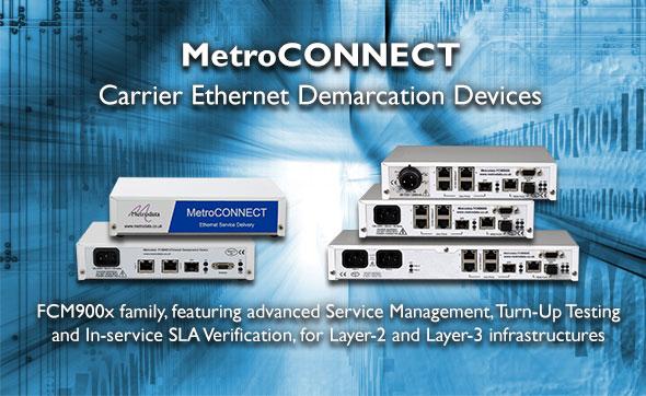MetroCONNECT Carrier Ethernet Demarcation