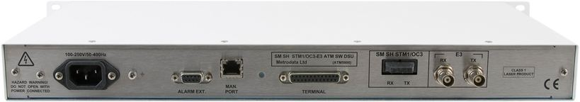 Rear: ATM Switching DSU