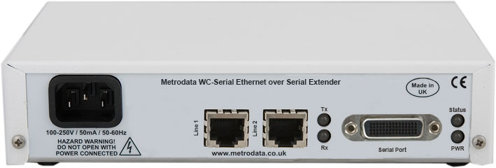 WC-Serial Fast Ethernet over Serial